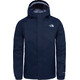 The North Face Boys Resolve Reflective Jacket Cosmic Blue/Cosmic Blue